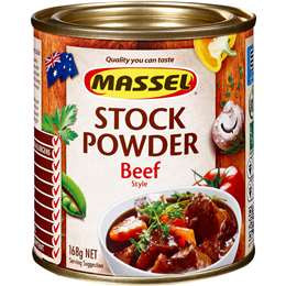 Massel Stock Powder Beef 168g