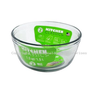 Glass Mixing Bowl 1.5L