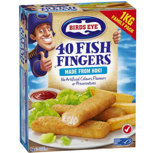 Birds Eye Fish Fingers 40pk