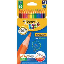 Bic Kids Colouring Pencils 12 pack