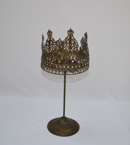 Crown Candle stand 36cm