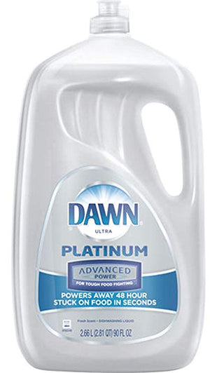Dawn Ultra Platinum Dishwashing Liquid Fresh Scent 2.66L