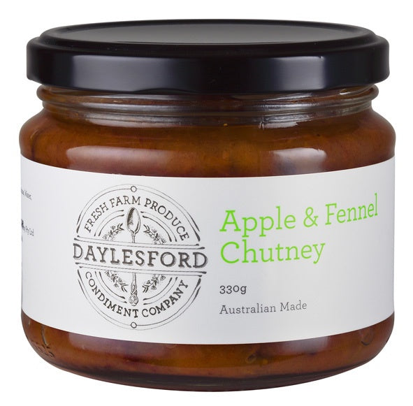 Daylesford CC Apple & Fennel Chutney 330g