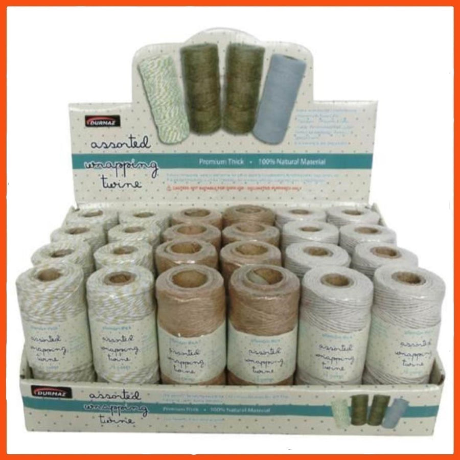 Durmaz Assorted Wrapping Twine 45/65m ea