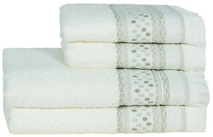 Novo Ponto Natural Hand Towel 50x100