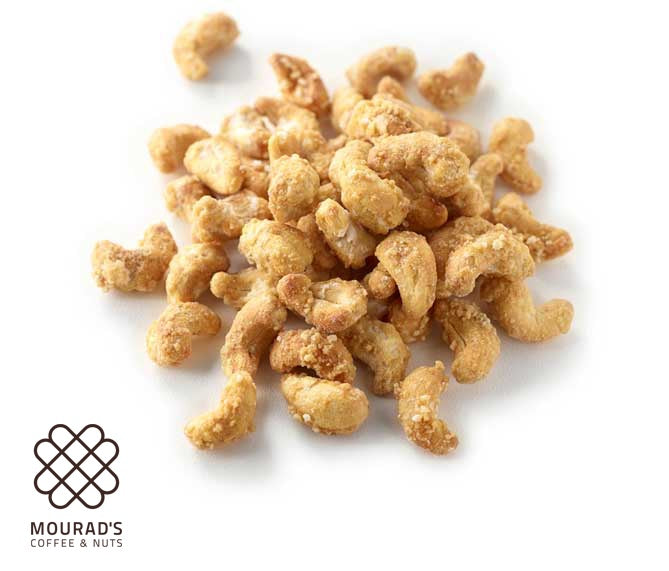 Mourads Honey Cashews 250g