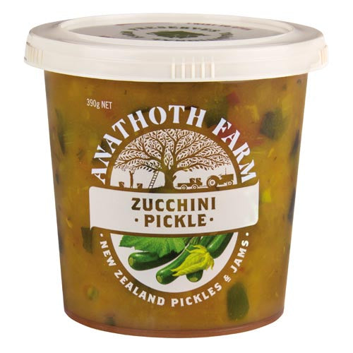 Anathoth Farms Zucchini Pickles 390g