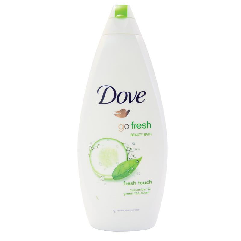 Dove Fresh Touch Shower Gel Cucumber And Green Tea  500ml