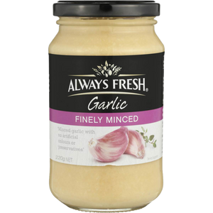 Always Fresh Finely Minced Garlic 220g