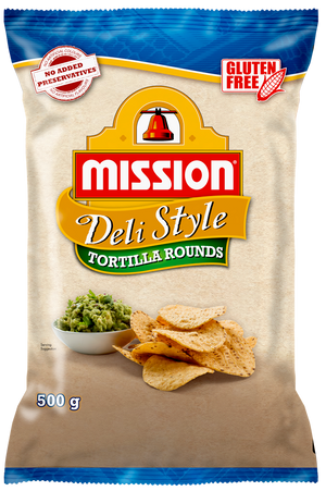 Mission Foods Corn Chips Round 500g