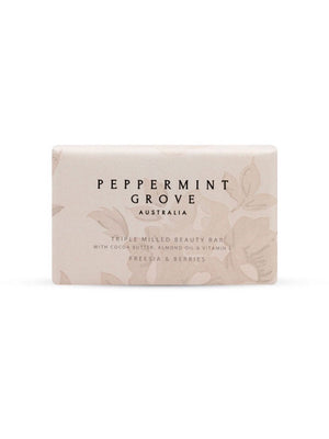 Peppermint Grove Beauty Bar 200g - Freesia and Berries
