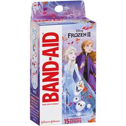 Band-aid Adhesive Bandages Disney Frozen 15 pack