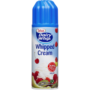 Dairy Whip Whipped Cream 300g