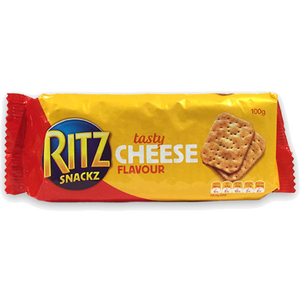 Ritz Snackz Tasty Cheese 100g