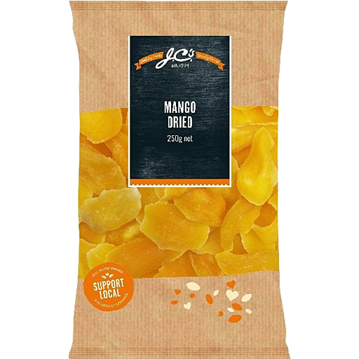 JCs Dried Mango 250g