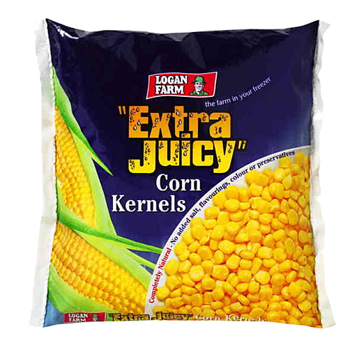 Logan Farm Frozen Corn Kernels 500g