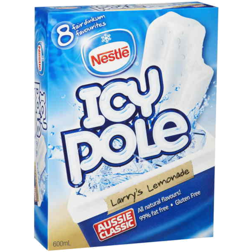 Nestle Lemonade Icy pole 8pk