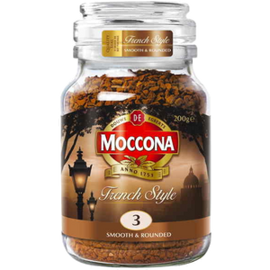 Moccona Freeze Dried Instant Coffee French Style 200g