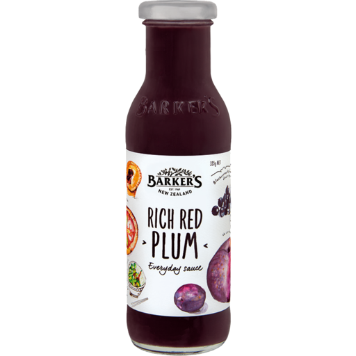 Barkers Rich Red Plum Sauce 325g