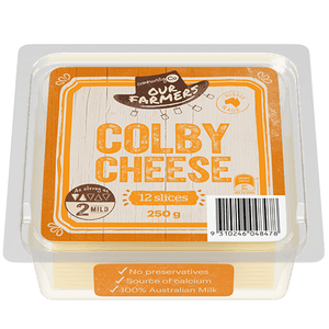 Community Co Colby Cheese 12 slices 250g