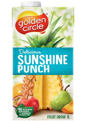 Golden Circle 1L Sunshine Punch Juice