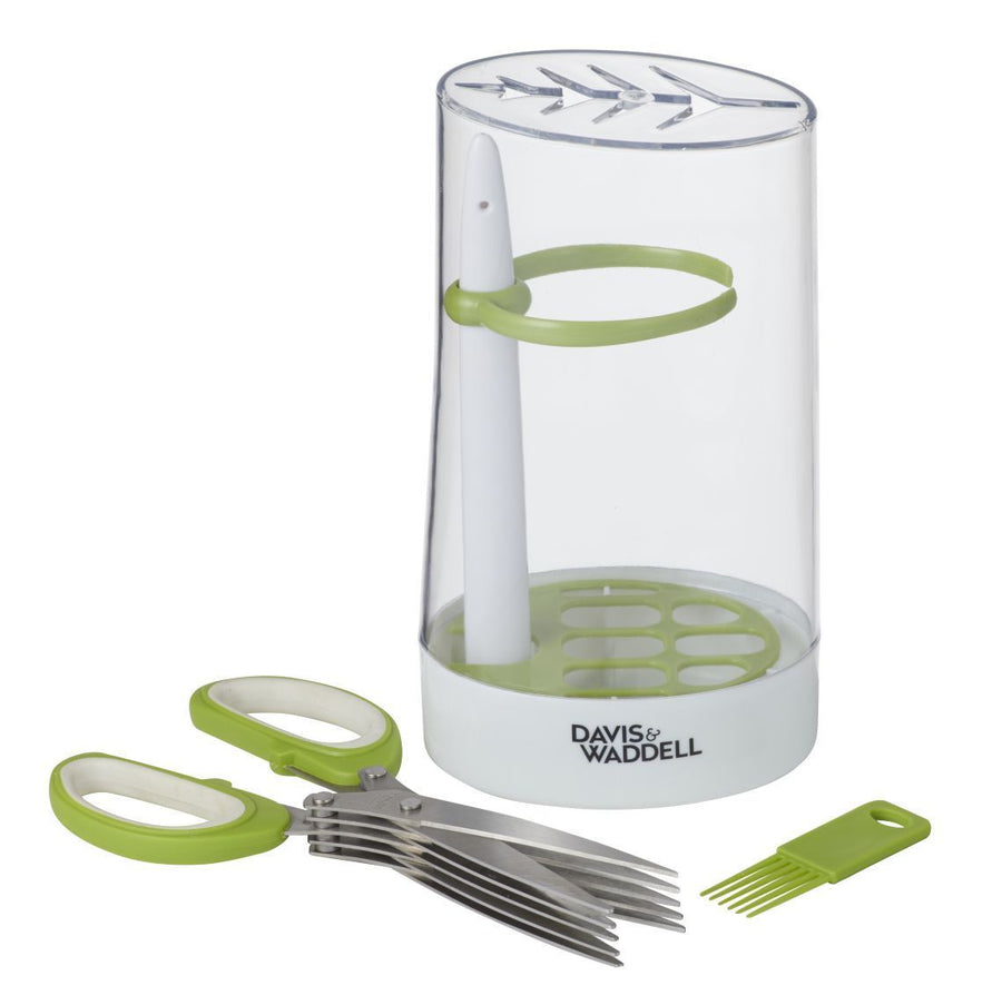 Herb Storage Canister & Shears Set, Davis & Waddell