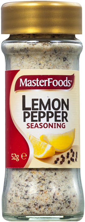 Masterfoods Lemon Pepper Seasoning 52g