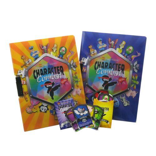 Busy Nippers Collectible Cards Display Folder
