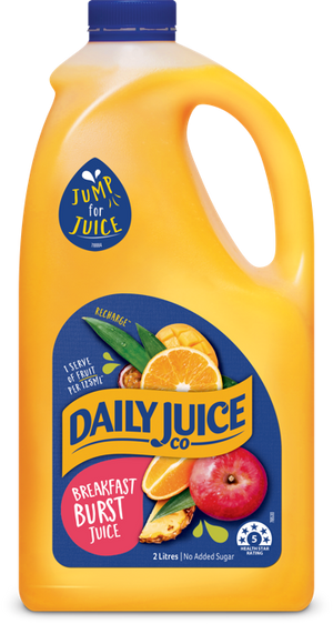 Daily Juice Co Breakfast Burst Juice 2L