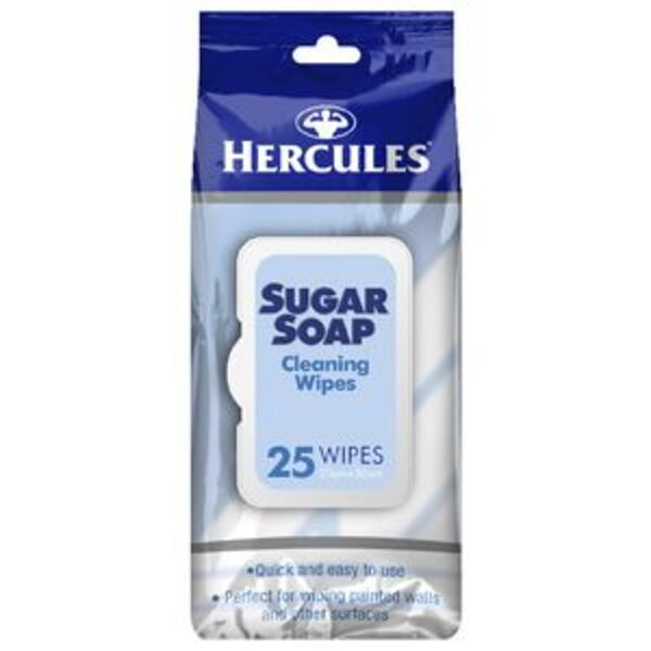 Hercules Sugar Soap Cleaning Wipes 25 Wipes