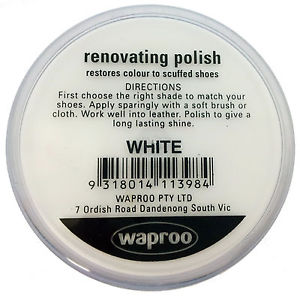 Waproo Renovating Polish White 45g
