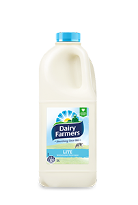 Dairy Farmers Milk Lite White 2L