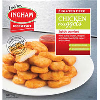 Inghams Gluten Free Chicken Nuggets 1kg