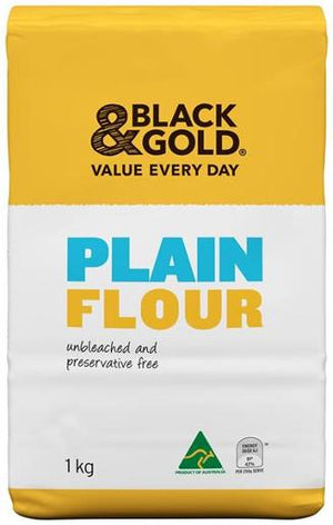 Black & Gold Plain Flour 1kg