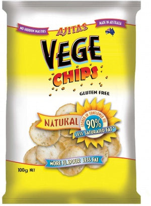 Ajitas Vege Chips Natural 100g