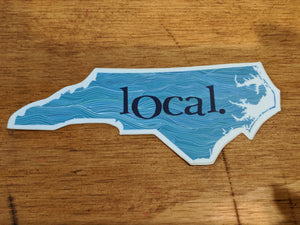 local. Sticker by Susanna Sakal