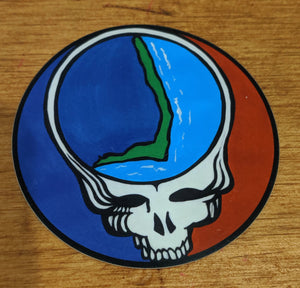 Steal Your Face OBX Sticker