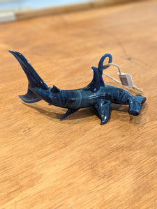 Hand-blown Glass Hammerhead Ornament