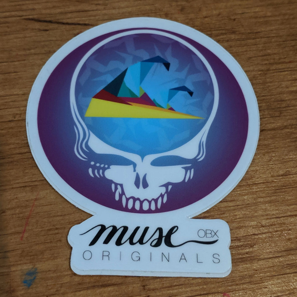 Muse OBX Grateful Dead Steal Your Face- Purple
