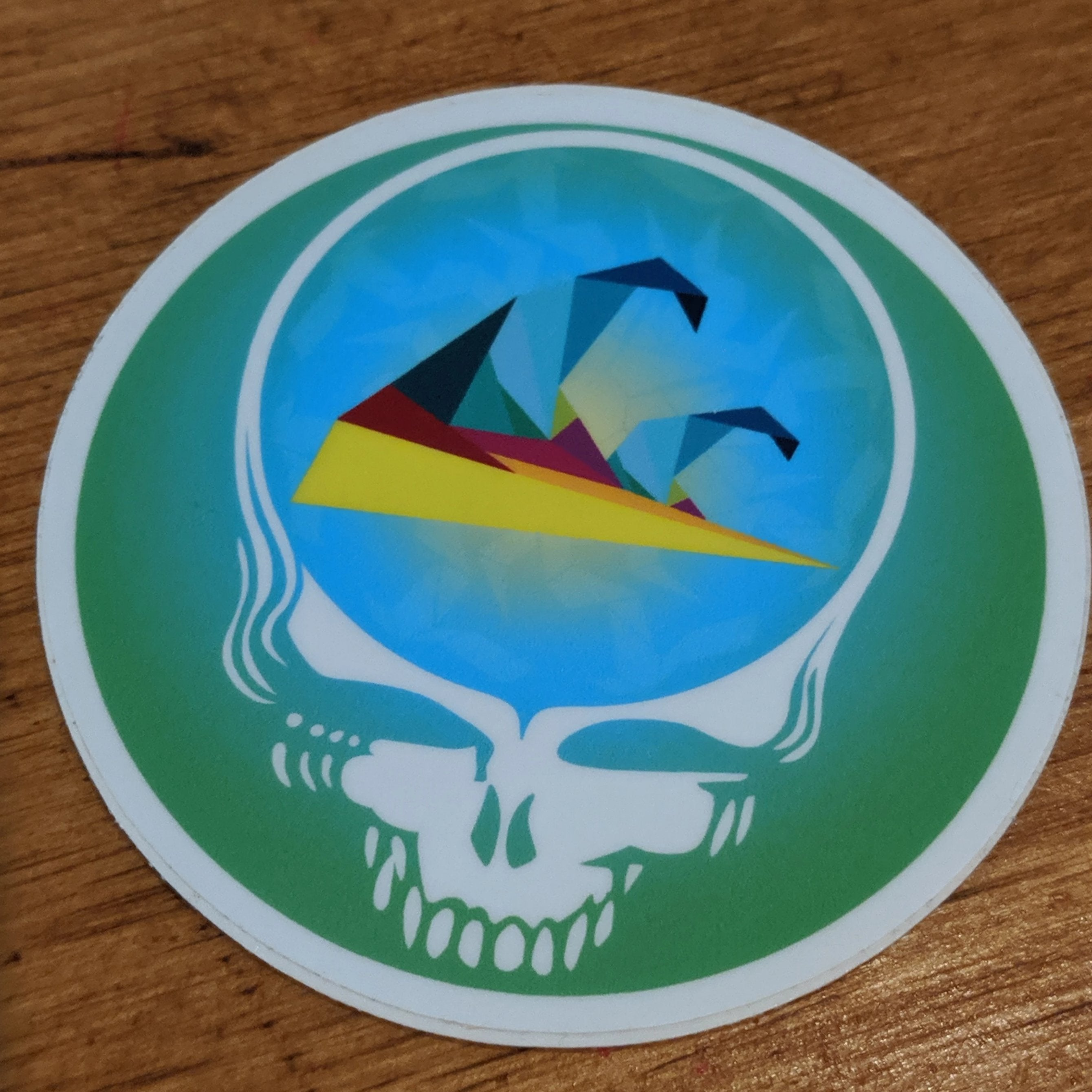 Muse OBX Grateful Dead Steal Your Face- Green