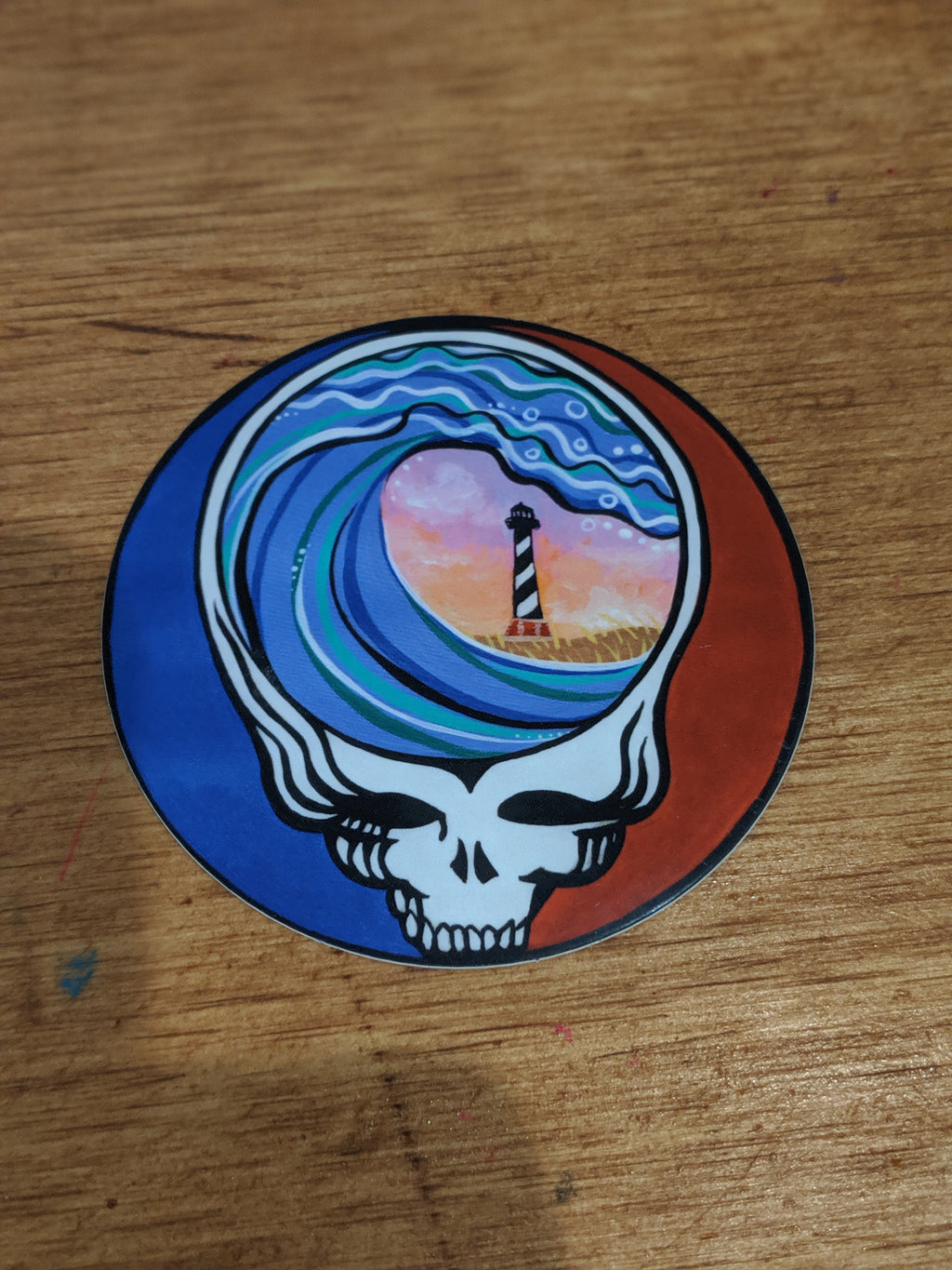 Steal Your Paradise Sticker