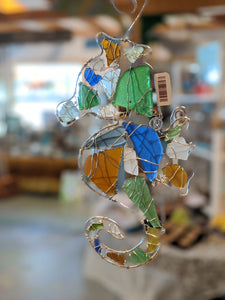 Seaglass Seahorse by Cindy Stone