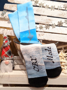 OBX Mode Socks - OBX Box and Muse OBX Exclusive