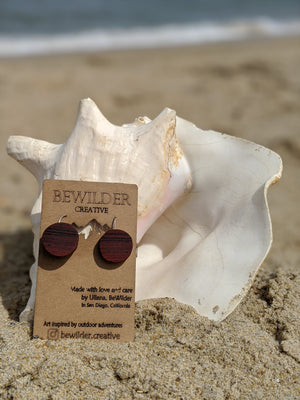 Be Wilder Creative Wooden Earrings