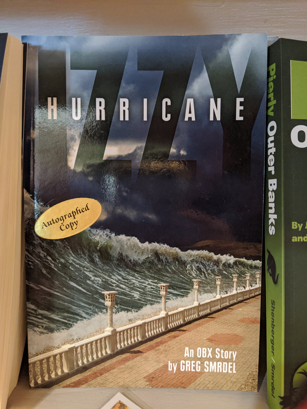 Hurricane Izzy by Greg Smrdel *signed copy*