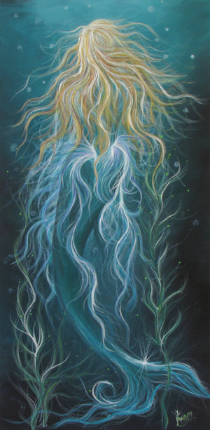 Angel Fritz Mermaid Giclee Prints 11x14