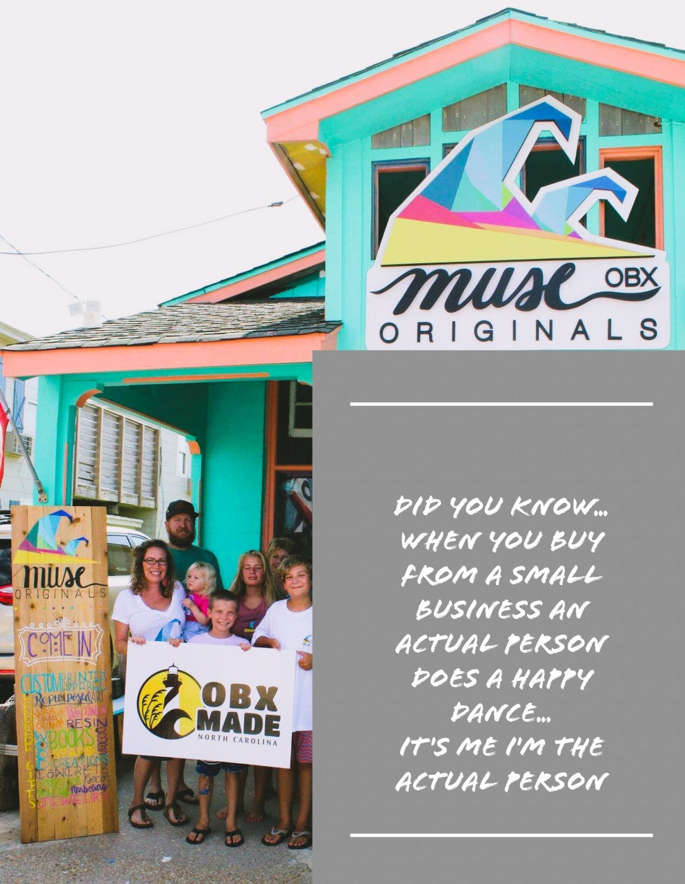 Muse Originals OBX Gift Card *GIVE LOCAL*