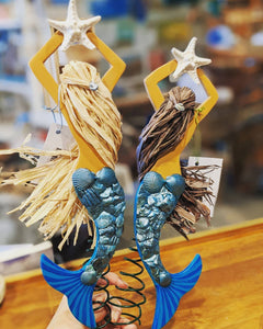 Mermaid Tree Topper by Wendy Karvala