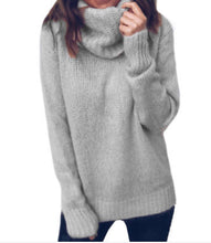 Load image into Gallery viewer, Cozy Cotton Blend Turtleneck Jumper