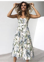 Load image into Gallery viewer, Boho Babe Strappy Midi Sun Dress